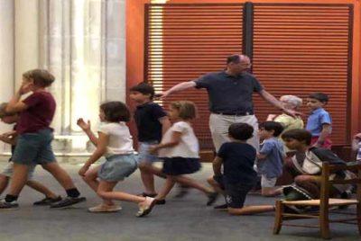Les enfants à St Ignace